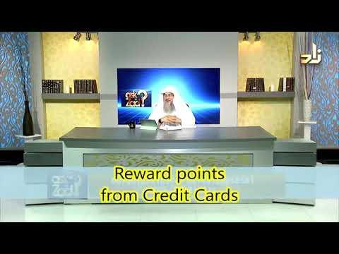 Reward points from credit cards - Sheikh Assim Al Hakeem