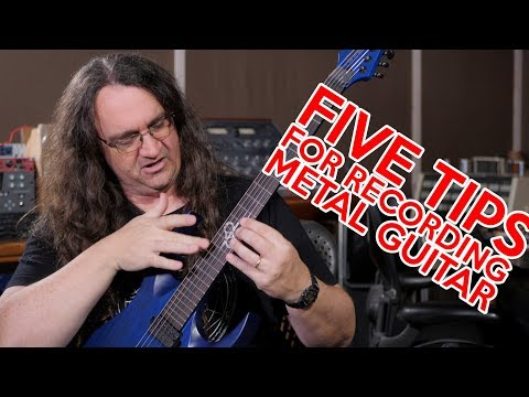 Five Tips for Recording Metal Guitar at Home