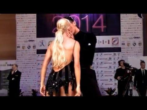 Gabriele Goffredo - Anna Matus, Brno Open 2014, WDSF WO latin, semifinal - rumba