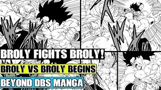 Beyond Dragon Ball Super: Broly Vs Broly! DBZ Broly Meets DBS Broly On Planet Vampa!