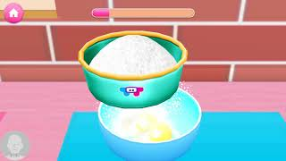 Tasty Cake Cooking Games for Girls