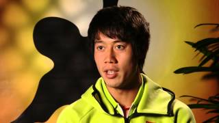 Kei Nishikori interview (4R) - Australian Open 2015