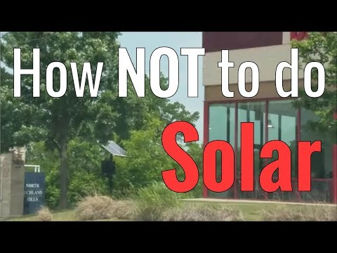 How NOT To Do Solar - Part 2