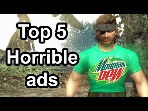 Top 5 - Horrible ads in gaming