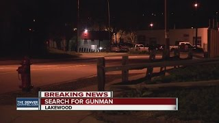 Search for suspect after shooting in Lakewood