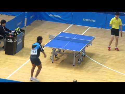 Video Tenis Meja David Jacobs vs Ge Yang - Final Tunggal Putra Korean Open Para TT 2013