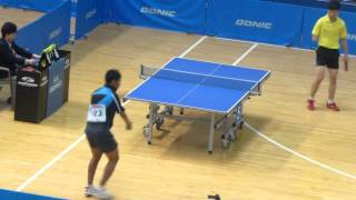 Video Tenis Meja David Jacobs vs Ge Yang - Final Tunggal Putra Korean Open Para TT 2013