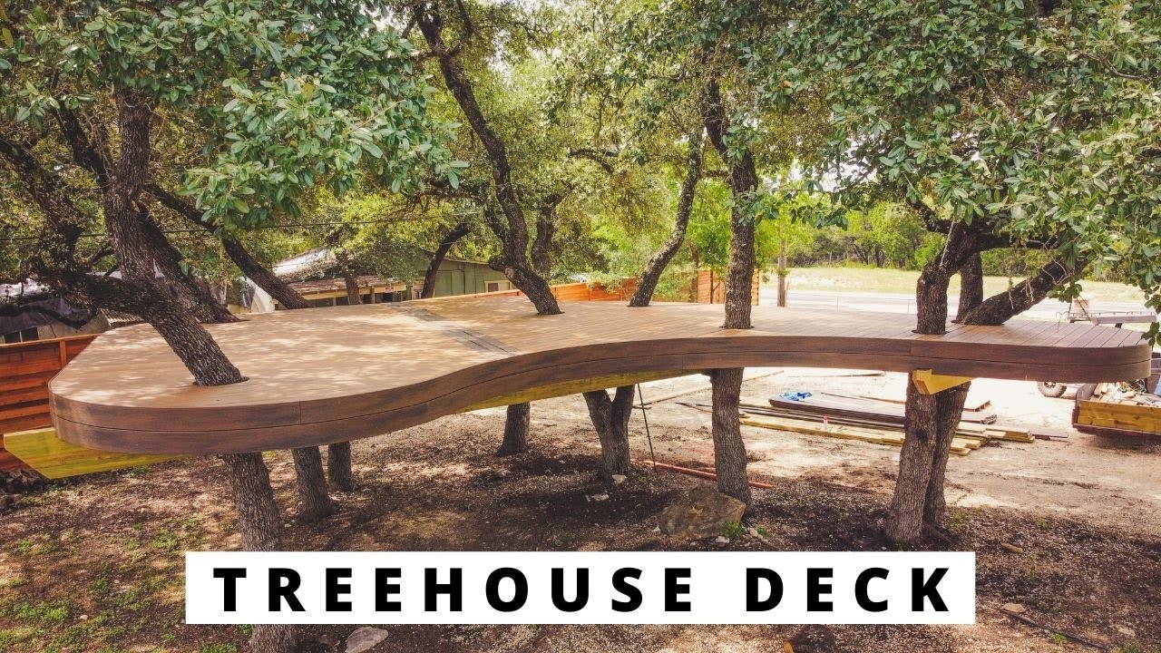 Deck Building in The Trees