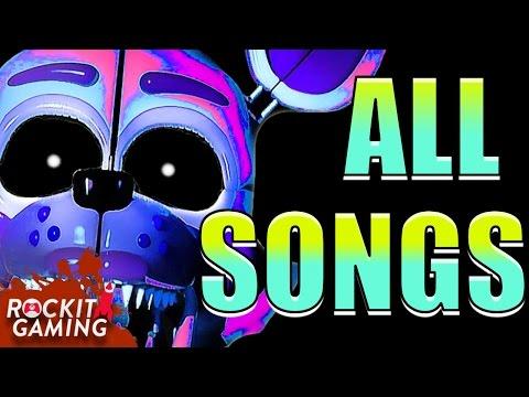 FNAF Sister Location   ALL SONGS   Rockit Gaming