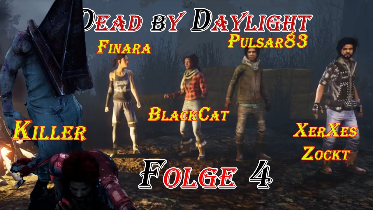 Dead by Daylight #4 Der Horror geht los (Let´s Play mit alten Bekannten DbD Together)