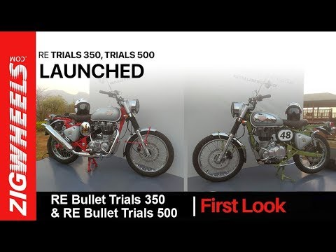 Royal Enfield Bullet Trials 350 & Bullet Trials 500 | India Launch First Look Video