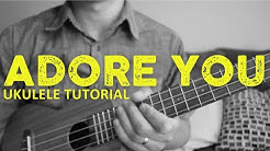 Harry Styles - Adore You (EASY Ukulele Tutorial) - Chords - How To Play