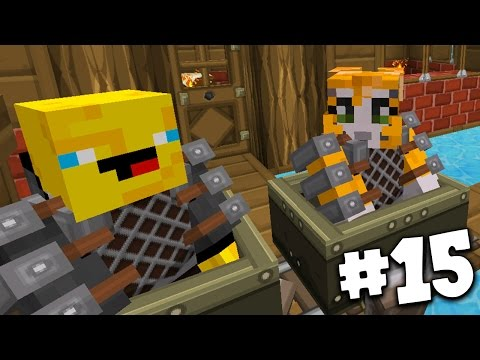Minecraft - TIME TRAVELLERS! - TRAIN STATION! #15 W/Stampy & Ash!
