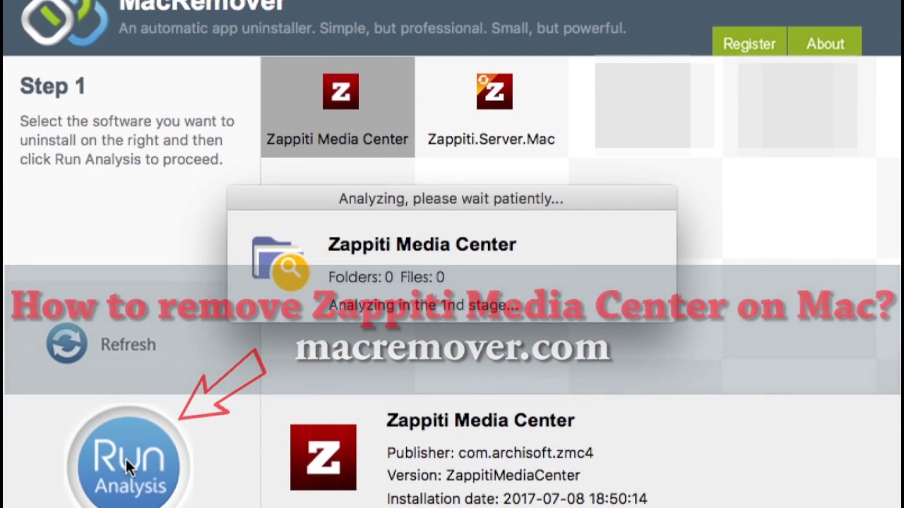 How to Remove Zappiti Media Center on your macOS and Mac OS X?