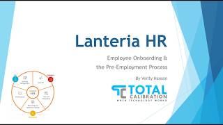 Lanteria hr employee onboarding