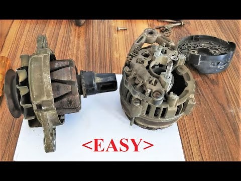 BOSCH Alternator Repairing with simple tools || Full Working , Explaination & Testing
