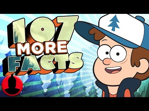107 MORE Facts About Gravity Falls! (ToonedUp #69) @ChannelFred