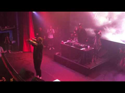 "Post Malone ""congratulations "" live in Denver on 9-18-16"