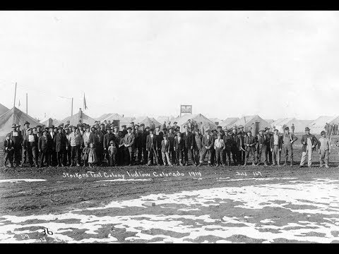 Lectures in History: Ludlow Coal Miners' Strike & Massacre Preview