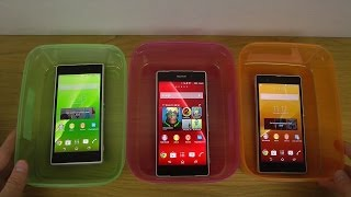 Sony Xperia Z2 vs. Sony Xperia Z1 vs. Sony Xperia Z - Water Test Which Is Best?
