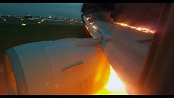 Singapore Airlines flight SQ368 - fire after landing in Changi Airport
