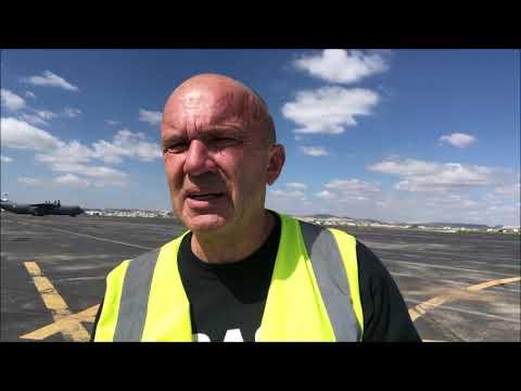 Tunis International Airport - word of pilot, Tunisia 2018 Expedition