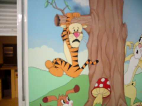 murales infantiles childrens room