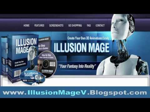 Illusion Mage  Easy 3D Animation Software Program