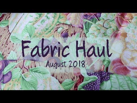 Lancaster Pennsylvania Fabric Haul : 2018