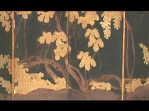 "Conservation of Japanese Screen Paintings, ""Hidden Grapes Part 1"", Nishio Conservation Studio"