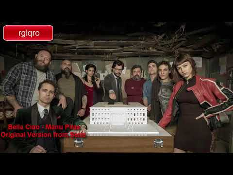 Bella Ciao - Manu Pilas (La casa de Papel/Money Heist) original song with Italian and English lyrics