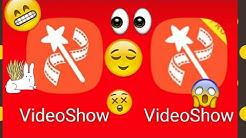 Como usar Video Show/ la mejor app para editar videos en 4k