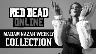 Red Dead Online - Veterans Collection Locations [Madam Nazar Weekly Collection]