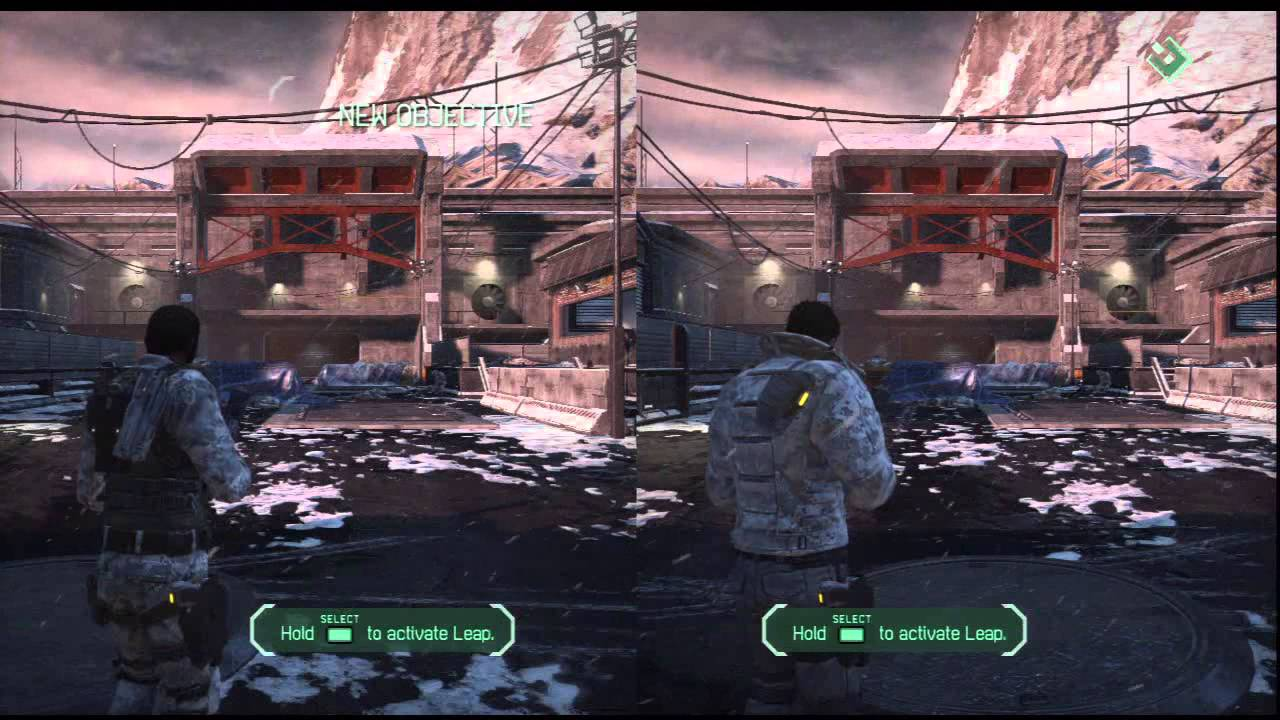 ps3 4 player split screen games