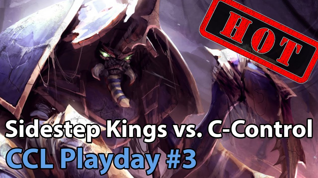 CCL: Sidestep Kings vs. Crowd Control - Heroes of the Storm 2020