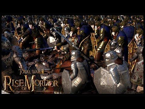 Dwarven Alliance With The Elves - Massive Uruk Hai Invasion  | Rise Of Mordor Total War Gameplay