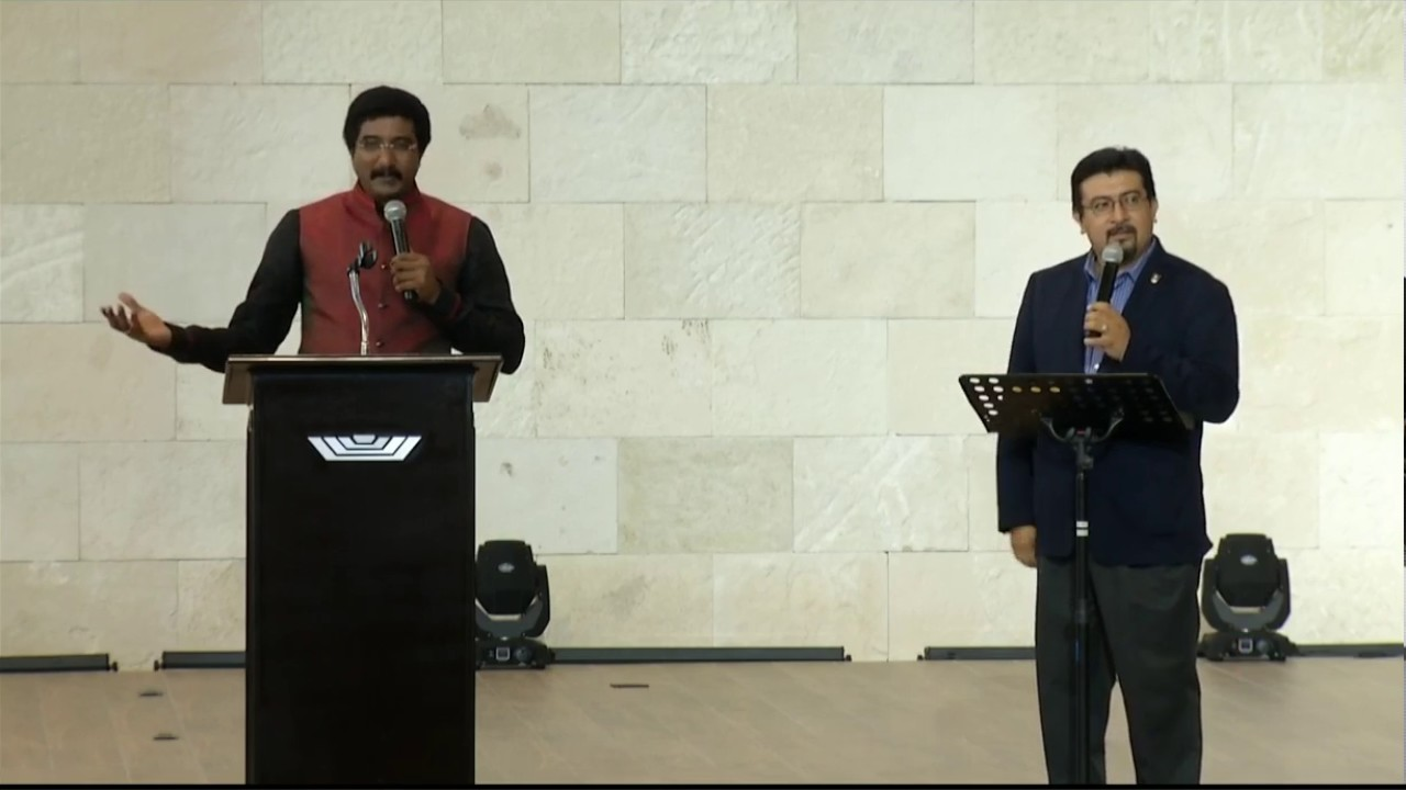 DR SATISH KUMAR SERMON IN MEXICO, COICOM - MESSAGE 1