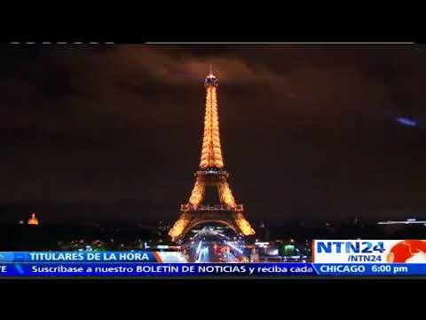Francia apaga la Torre Eiffel de París en honor a las víctimas del ataque en Barcelona
