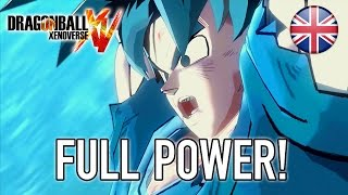 Dragon Ball Xenoverse - PS3/PS4/X360/XB1 - Full Power! (Trailer English)