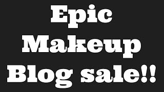 MAKEUP BLOG SALE| MAC, NARS, IT Cosmetics, HOURGLASS and MORE!!!!!