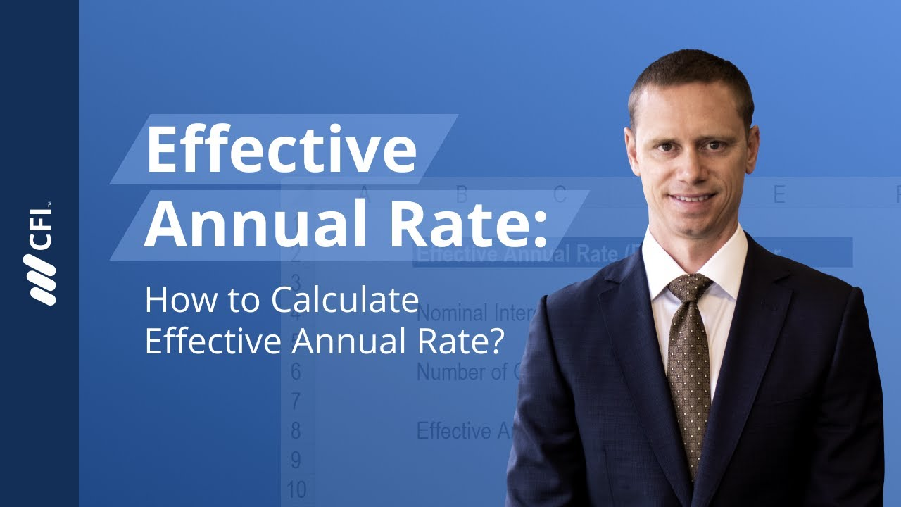 Effective Annual Rate Definition Formula What You Need To Know