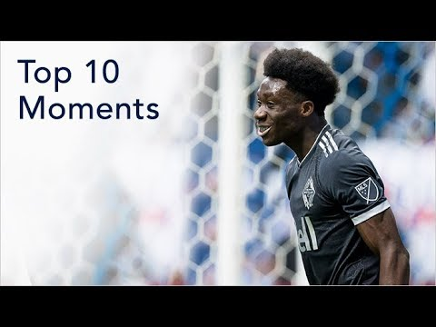 Top 10 Moments: Alphonso Davies
