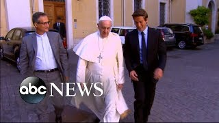 Pope Francis speaks to the people in new documentary