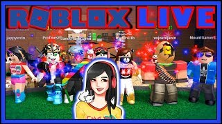 Roblox Live Stream Listed Games - Toy Code Giveaway - GameDay Saturday 133 - AM