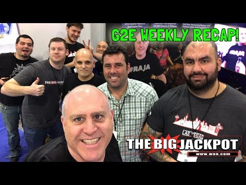 🔴Weekly recap from G2E💣