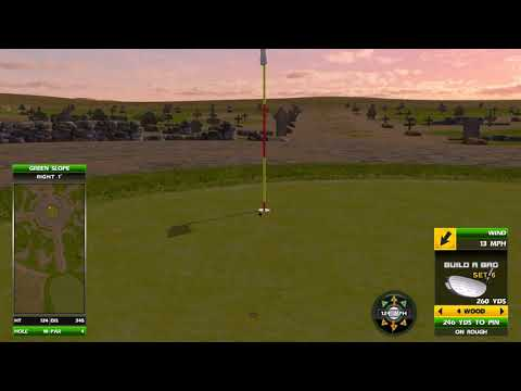 Golden Tee Great Shot On Dodge City!