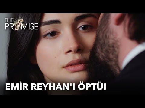 Emir Reyhan'ı öptü!   Yemin 36. Bölüm
