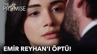 Emir Reyhanı öptü  Yemin 36. Bölüm