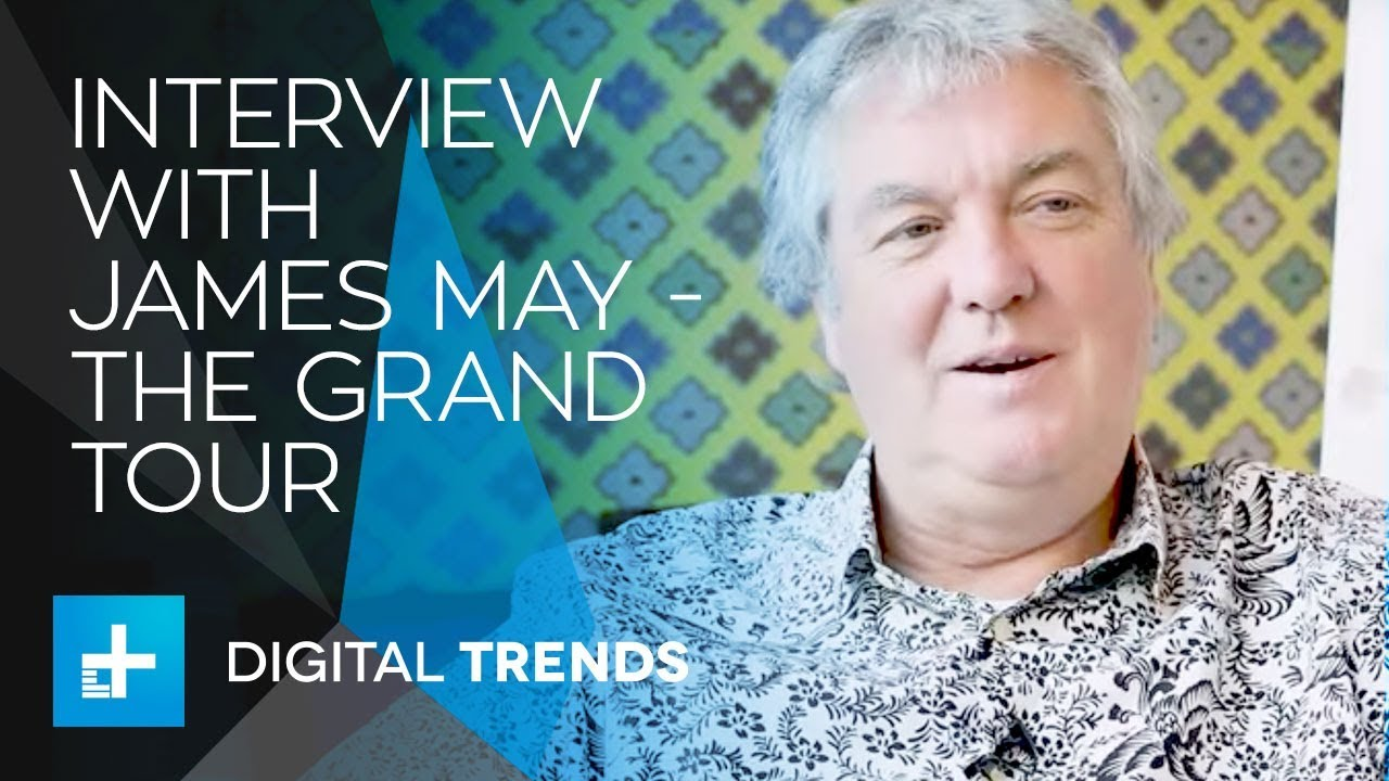 Interview with James May – The Grand Tour Season 2