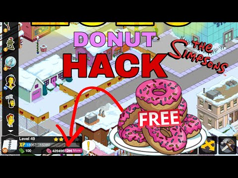 How To Get Free Simpsons Tapped Out Donut 2020 100% Working